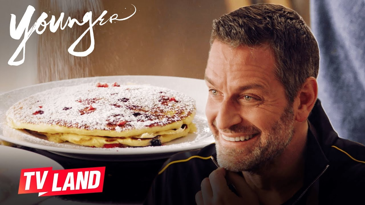 Making Pancakes with Peter Hermann