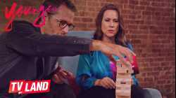 Game On!! JENGA Battle w/ Peter Hermann & Miriam Shor