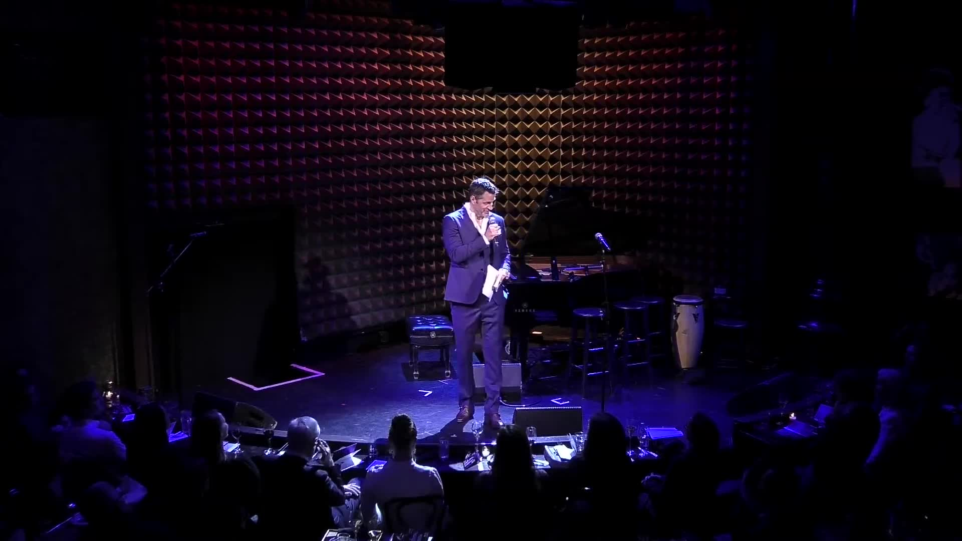 Peter Hermann - Hosts - Love is EleMental Live at Joe's Pub - Feb. 24th 2020